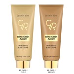 Golden Rose Diamond Breeze Shimmering Body Glow 02 Dazzle Bronze, 75ml