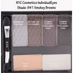 NYC Individual Eyes Compact, 941 Smokey Browns