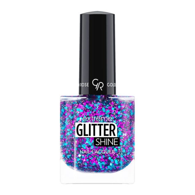 Golden Rose Extreme Glitter Shine Nail Lacquer 211 10.2ml