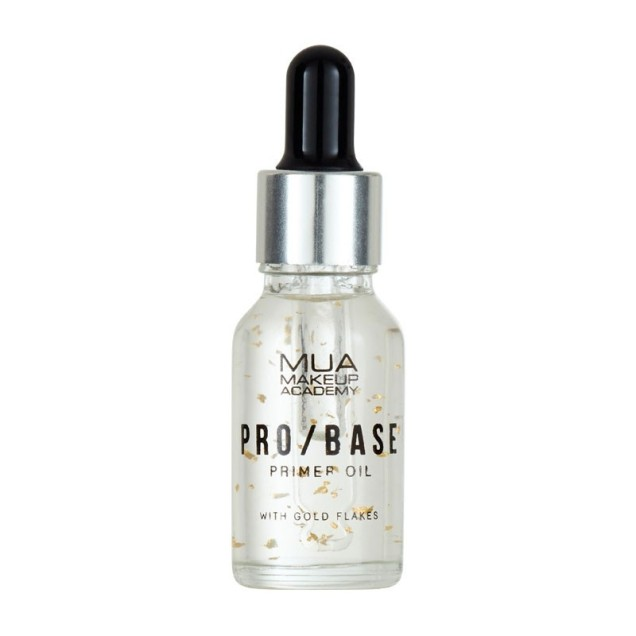 MUA Makeup Academy Pro / Base Primer Oil With Gold Flakes 15ml