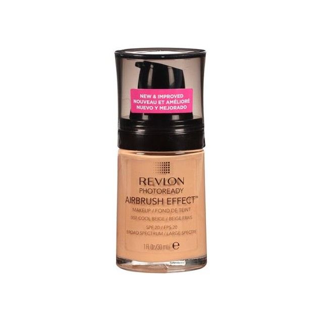 Revlon Photoready Airbrush Effect MakeUp, 007 Cool Beige, 30ml