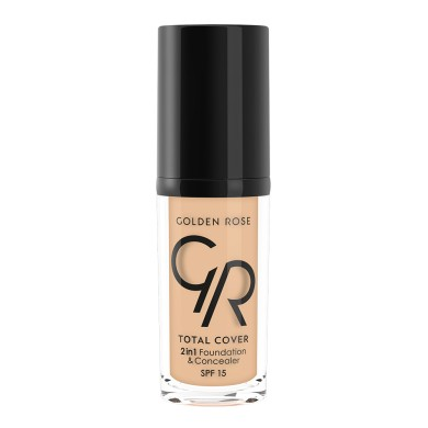 Golden Rose COVER 2in1 Foundation & Concealer Νο. 02 Ivory, 30ml