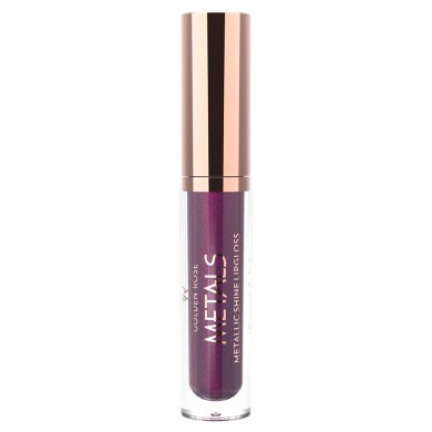 Golden Rose Metals Metallic Shine Lipgloss, No. 07 Wine Red, 4.5ml