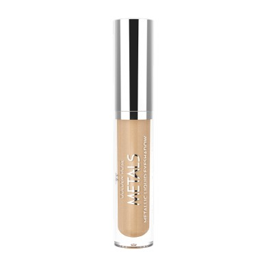 Golden Rose Metals Metallic Liquid Eyeshadow, No. 102 Rosewood, 4.5ml