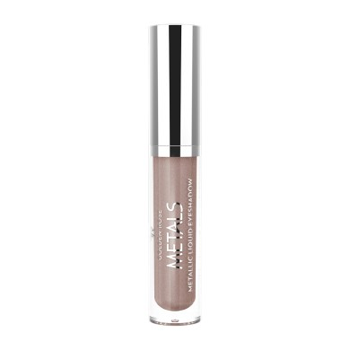 Golden Rose Metals Metallic Liquid Eyeshadow, No. 105 Mink, 4.5ml