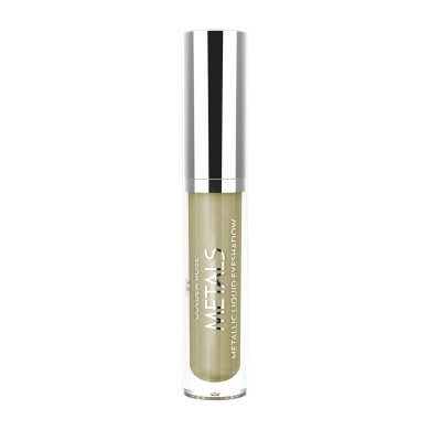 Golden Rose Metals Metallic Liquid Eyeshadow, No. 106 Khaki, 4.5ml