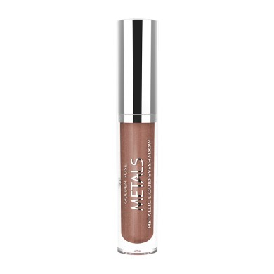 Golden Rose Metals Metallic Liquid Eyeshadow, No. 108 Copper Dust, 4.5ml