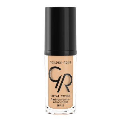 Golden Rose COVER 2in1 Foundation & Concealer Νο. 11 Nude, 30ml