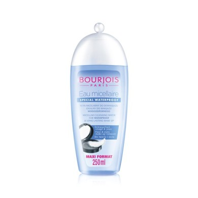 Bourjois Eau Micellaire Cleansing Water, Special Waterproof 250ml