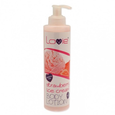 Lovie Body Lotion Strawberry Ice Cream, 250 ml