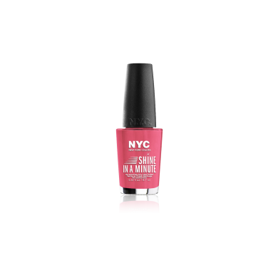 NYC Shine In A Minute Nail Polish No 300 Spring Tulip, 9.7ml