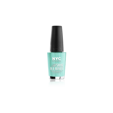 NYC Shine In A Minute Nail Polish No 320 Blue Sky, 9.7ml