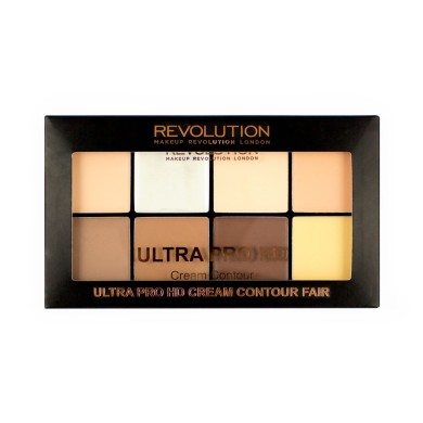 Makeup Revolution HD Pro Cream Contour - Fair, 20g