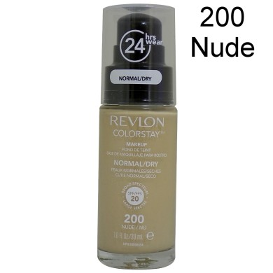 Revlon Colorstay Foundation Normal/Dry Skin, 200 Nude, 30ml