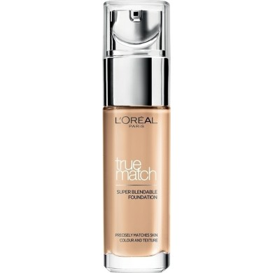 L'Oreal True Match Super Blendable Foundation 3R/3C Rosse Beige SPF17 30ml