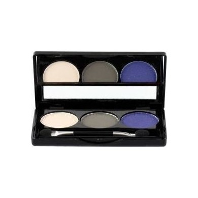 Manhattan Blogger's Choice Trio Eyeshadow, 1 Concrete Walk