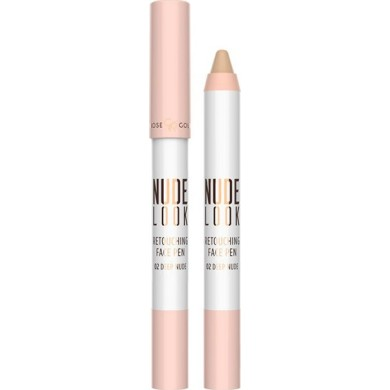 Golden Rose Nude Look Retouching Face Pen 02 Deep Nude 4gr