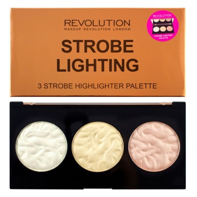 Makeup Revolution Strobe Lighting Palette, 11.5gr