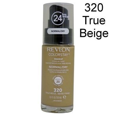 Revlon Colorstay Foundation Normal/Dry Skin, 320 True Beige, 30ml