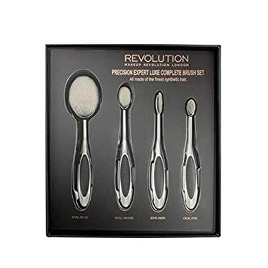 Makeup Revolution Precision Expert Luxe Complete Brush Set - Σετ πινέλων μακιγιάζ 4 τεμαχίων
