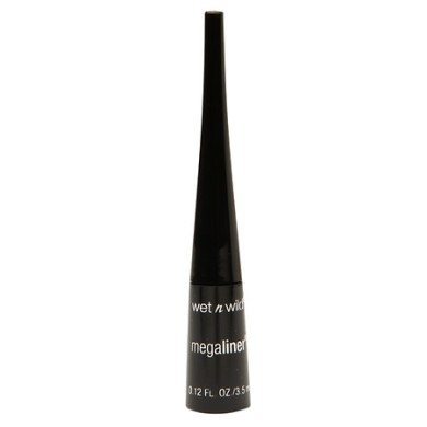 Wet n Wild MegaLiner Liquid Eyeliner, No. 871 Black