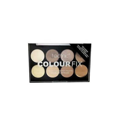 Technic Colour Fix Highlighting Cream Palette