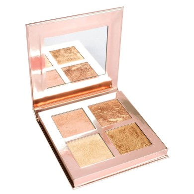 Makeup Revolution Face Quad Highlighter - Ignite 14gr