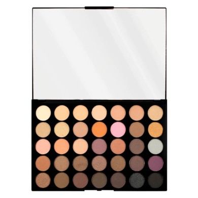 Makeup Revolution Pro Hd Palette Amplified 35 Eye Shadow Neutrals Warm 30g