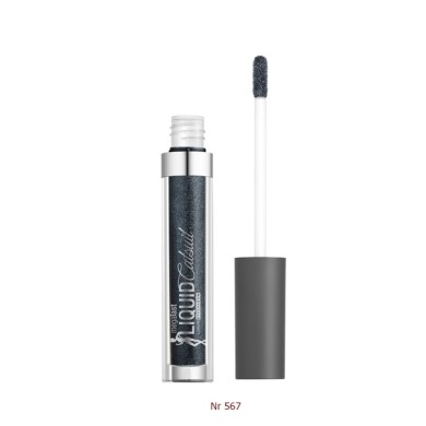 Wet n Wild MegaLast Liquid Catsuit Metallic Eyeshadow - Nr 567 Gun Metal 3.5ml