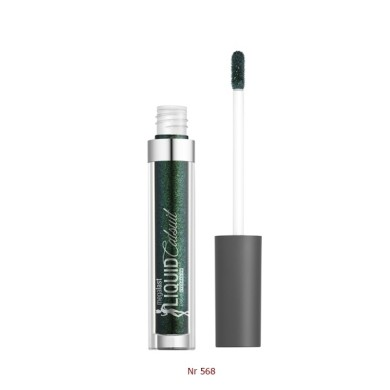 Wet n Wild MegaLast Liquid Catsuit Metallic Eyeshadow - Nr 568 Emerald Gaze 3.5ml