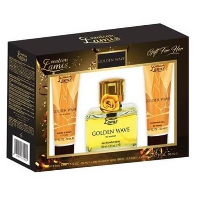 Golden Wave Gift For Her (Ladies 3 Piece Gift Set) Lamis 200ml