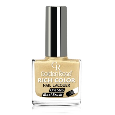 Golden Rose Rich Color Nail Lacquer, No.77