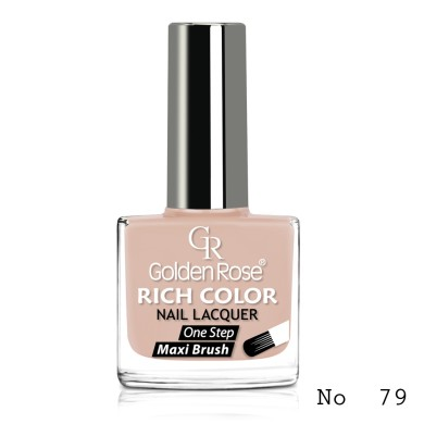 Golden Rose Rich Color Nail Lacquer, No.79