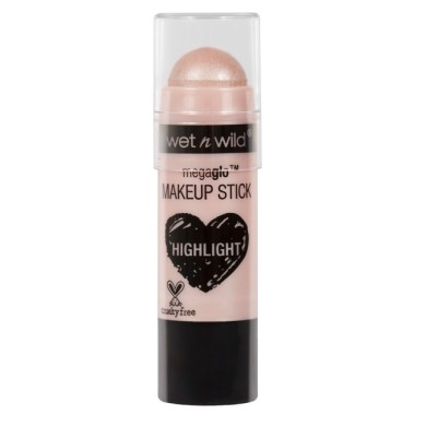 Wet n Wild Mega Glo Makeup Stick Highlighter, E800, When The Nudes Strikes, 6g.