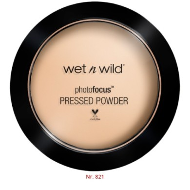 Wet n Wild Photo Focus Pressed Powder, E821E Warm Light, 7.5g