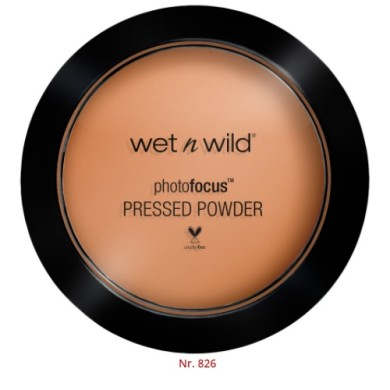 Wet n Wild Photo Focus Pressed Powder, E826C Golden Tan, 7.5g