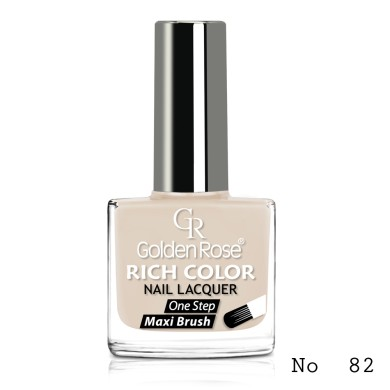 Golden Rose Rich Color Nail Lacquer, No.82