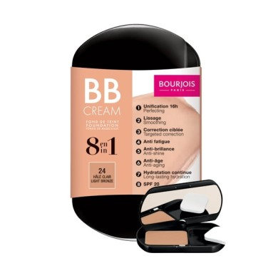 Bourjois 8 in 1 - BB Cream Foundation 6g, No. 21 Vanilla