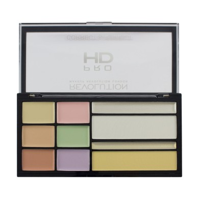 Makeup Revolution HD Correct And Perfect Palette,16.5gr