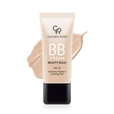 Golden Rose BB Cream Beauty Balm, Light No:01, 30ml