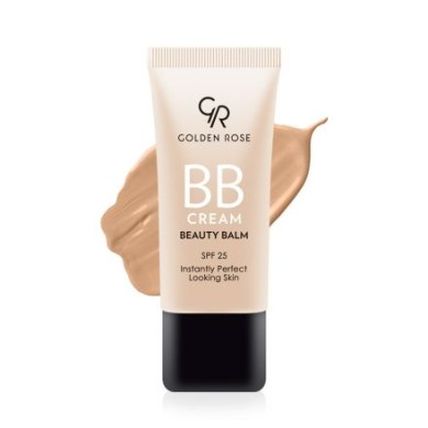 Golden Rose BB Cream Beauty Balm, Medium Plus No:05, 30ml