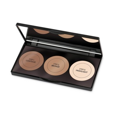 Golden Rose Contour Powder Kit, 10.5 g
