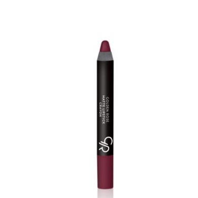 Golden Rose Matte Lipstick Crayon, No. 19, 3.5g