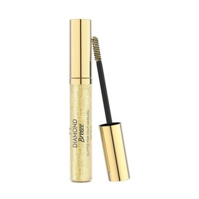 Golden Rose Diamond Breeze Glitter Top Coat Mascara 24K Gold 11ml