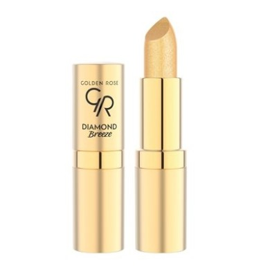 Golden Rose Diamond Breeze Shimmering Lipstick 01 24k Gold 4.2g