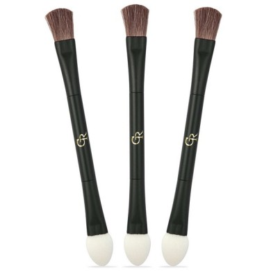 Golden Rose Double Ended Eyeshadow Brush
