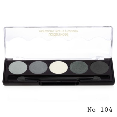 Golden Rose professional palette eyeshadow No. 104,8g