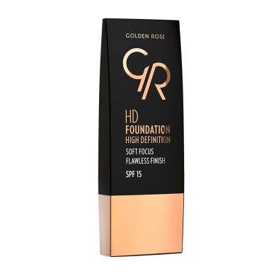 Golden Rose HD Foundation Flawless Finish Spf15