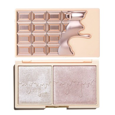 Makeup Revolution I Heart Mini Chocolate Highlighter Palette - Elixir Glow 11,2gr