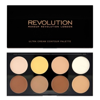 Makeup Revolution Ultra Cream Contour Palette, 13g
